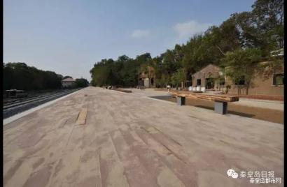 百年秦港华丽转型:离海最近火车站即将竣工通车