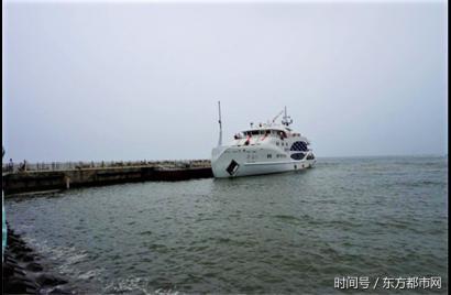 秦皇岛新绎寻仙号游轮顺利启航