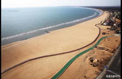 初秋秦皇岛 在全国最长的沙滩木栈道 看最美的海